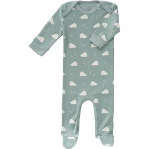 """Pyjama bébé avec pieds en coton bio """"Hérisson"""" Fresk"""