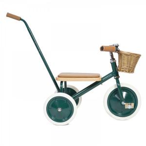 "Tricycle enfant Trike en acier et bois ""Vert"" Banwood"