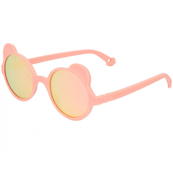 "Lunettes solaires 12-24 mois Ours'on ""Rose Pêche"""