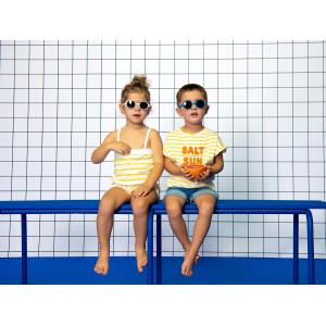 """Lunettes solaires bébé 12-24 mois Rozz """"Bleu Medium"""" Ki et la"""