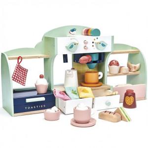"""Jouet en Bois Café """"Le nid d'oiseau"""" en bois Tender Leaf Toys"""