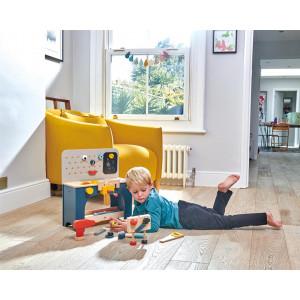 Jouet Etabli de table enfant en bois Tender Leaf Toys