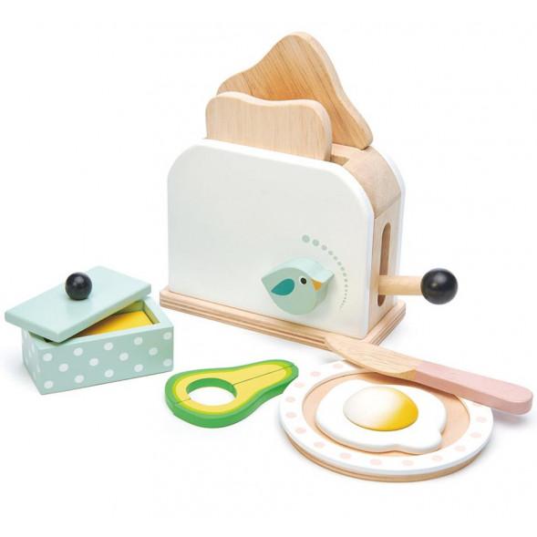 Grille-pain et accessoires en bois (3 ans et +)