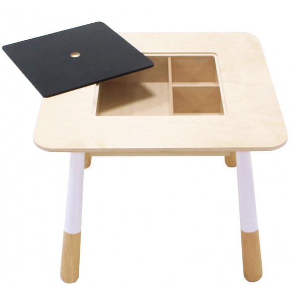 """Table enfant en bois """"Forêt"""""""