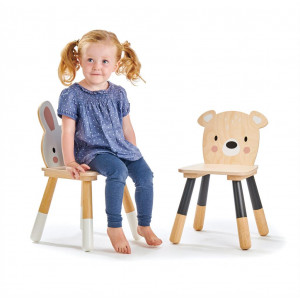 """Table et chaises enfant en bois """"Forêt"""" Tender Leaf Toys"""