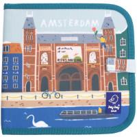 """Cahier ardoise à coloriage et dessins + 4 craies Butterstix """"Amsterdam"""" Jaq Jaq Bird"""
