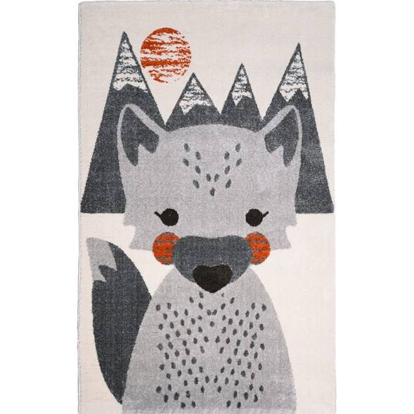 Tapis enfant mr fox en polypropylène nattiot -