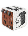 """Cube d'éveil bébé en coton bio """"Woodland"""" Wee Gallery"""