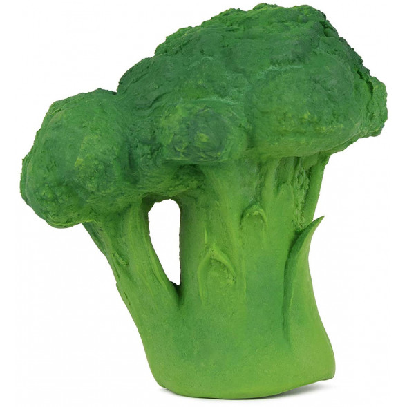 "Jouet de dentition en hevea ""Brucy le Brocoli"""