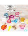 """Kit de pâte à modeler 100% naturelle """"Princesses"""" Wonderdough"""