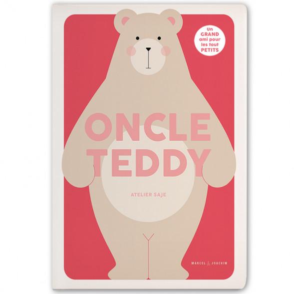 """Livre géant """"Oncle Teddy"""" (12 mois et +) de l'Atelier Saje"""