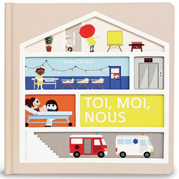 """Livre """"Toi, moi, nous"""" (2 ans et +) de Lorea de Vos"""