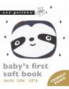 """Livre bébé d'éveil en tissu coton bio """"Swing Slow"""" Wee Gallery"""