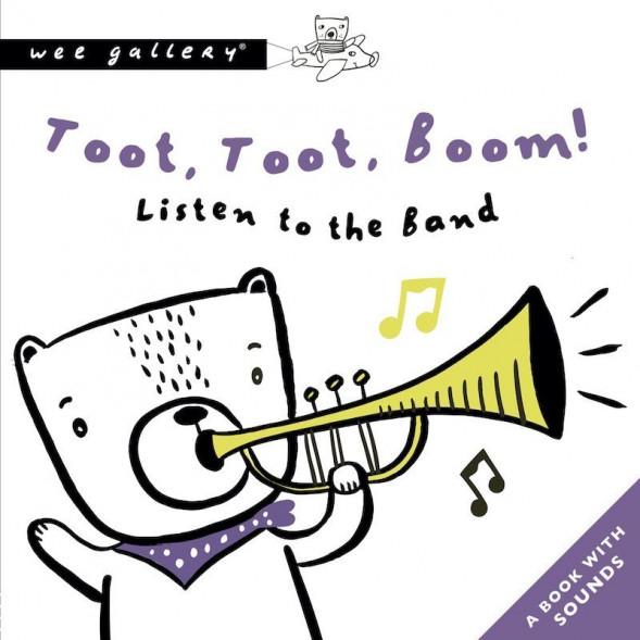 """Livre d'éveil sonore """"Toot, Toot, Boom!"""" (12 mois et +)"""