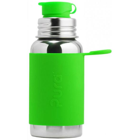 """Gourde en inox (550 ml) Sport """"Vert"""""""