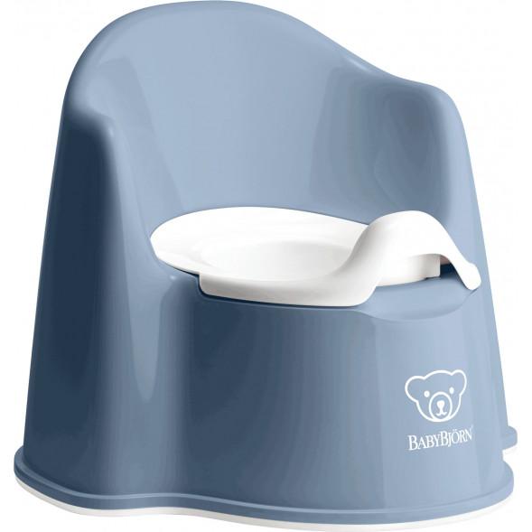 """Pot de toilette Fauteuil """"Bleu Profond"""""""