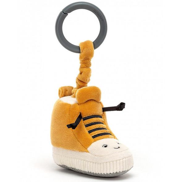 """Jouet d'activités pour poussette et siège-auto """"Sneakers Kicketty"""""""