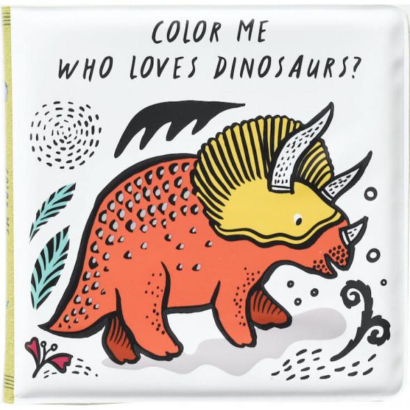 """Livre de bain à colorier """"Dinosaures"""""""