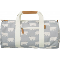 "Sac Weekend enfant en PET recyclé ""Ours Polaire"" Fresk"
