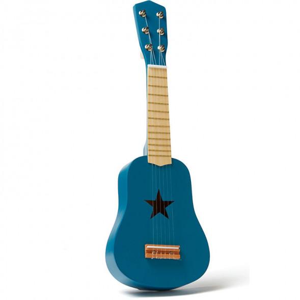"""Guitare enfant en bois Etoile """"Bleu"""" (3-8 ans)"""