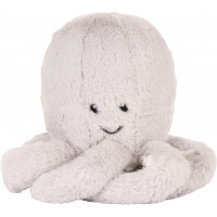 """Peluche apaisante musicale Baby Conforter """"Octopus Olly Gris"""""""