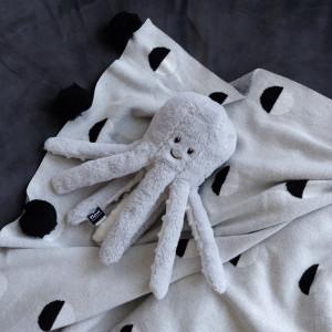 """Veilleuse bébé Peluche apaisante musicale """"Octopus Olly"""" Flow"""