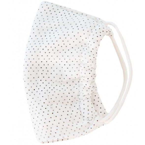 """Masque de protection lavable Enfant en coton tetra """"Dots"""" OUTLET"""