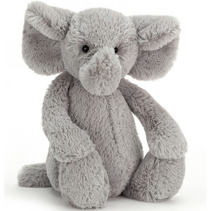 Peluche bébé Bashful Elephant Medium - Jellycat -
