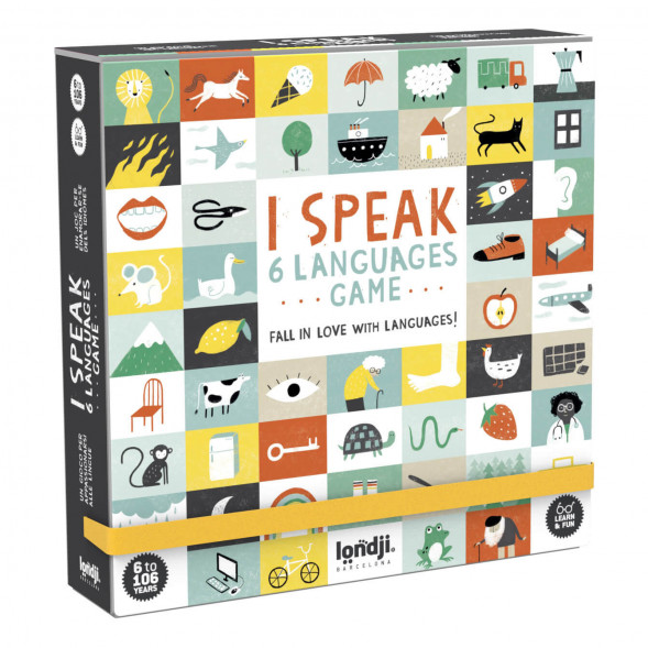 """Jeu """"I speak 6 languages"""" (6 ans et +) Londji"""