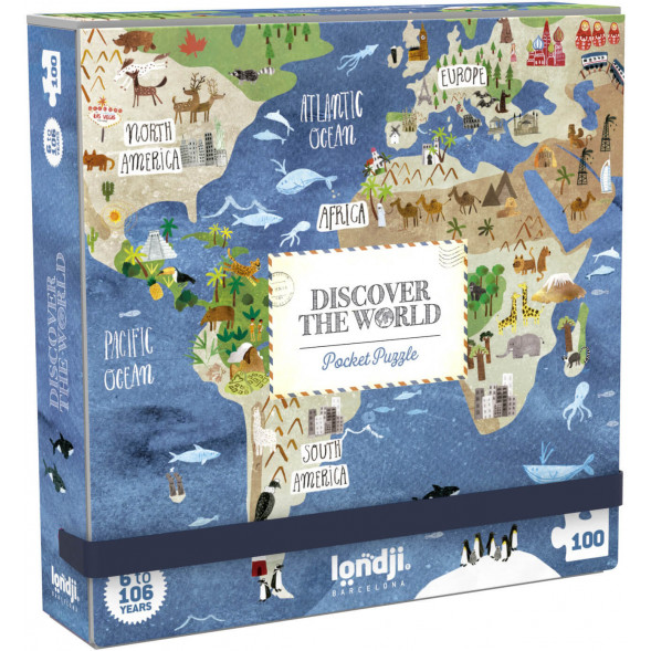 "Puzzle ""Discover the world"" (6-10 ans)"