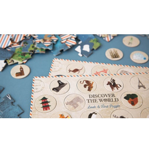 """Puzzle """"Discover the world"""" (6-10 ans)"""
