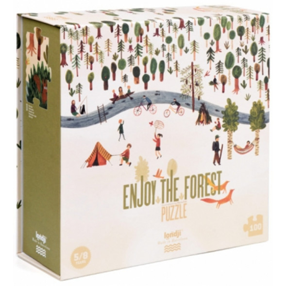 "Puzzle ""Enjoy the Forest"" (5-8 ans)"