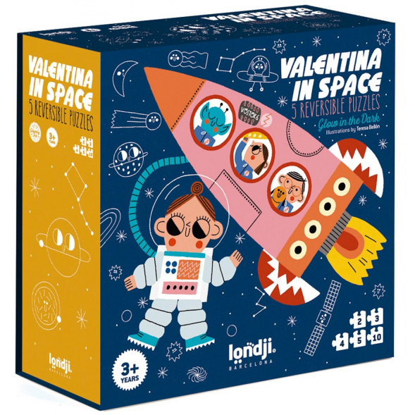 "Puzzle ""Valentina in space"" (3 ans et +)"