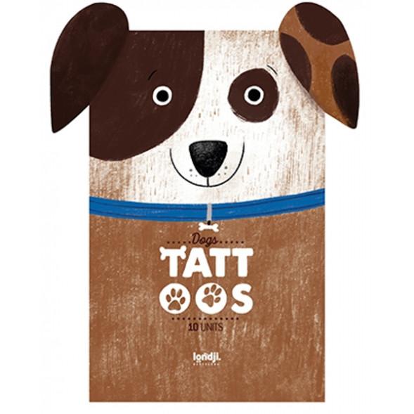 """Tatouages enfant """"Chiens"""" (3 ans et +)"""
