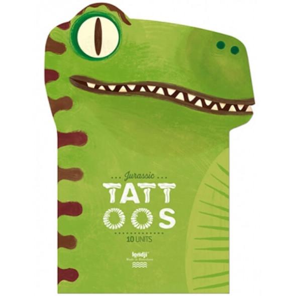 """Tatouages enfant """"Jurassic"""" (3 ans et +)"""