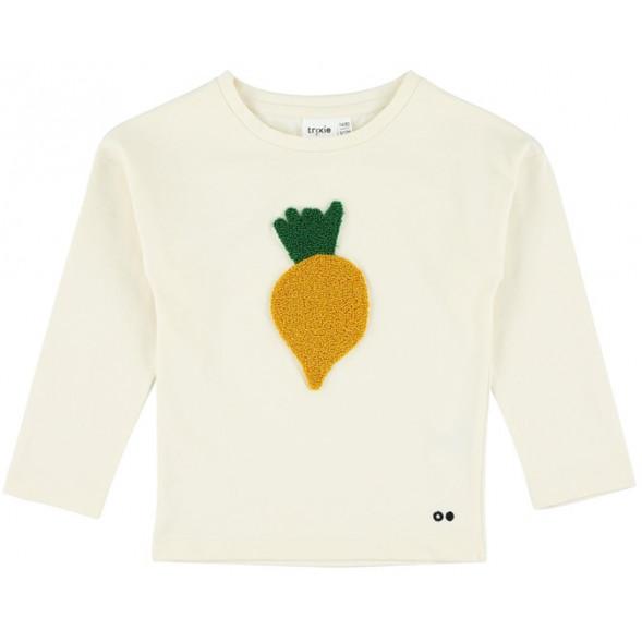 "T-shirt manches longues en coton bio ""Tiny Turnip"""