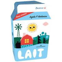 """Livre d'éveil en mousse """"Ma Petite Epicerie : Le Lait"""" (12 mois et +) d'Ingela P. Arrhenius Marcel Joachim"""