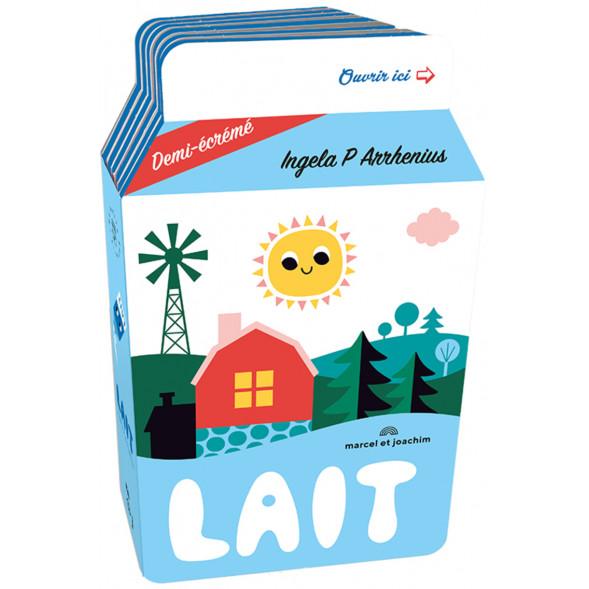 """Livre d'éveil en mousse """"Ma Petite Epicerie : Le Lait"""" (12 mois et +) d'Ingela P. Arrhenius"""