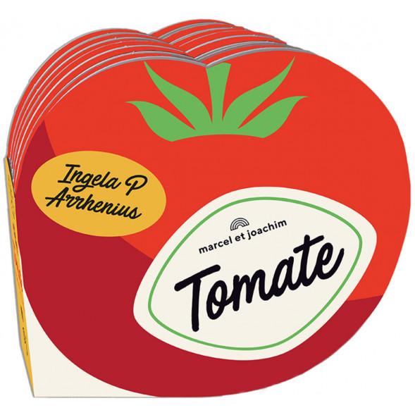 """Livre d'éveil en mousse """"Ma Petite Epicerie : La Tomate"""" (12 mois et +) d'Ingela P. Arrhenius"""
