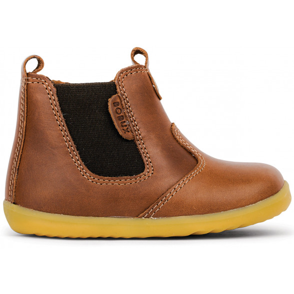 "Bottines en cuir Quickdry Step Up ""Jodhpur"" Toffee"