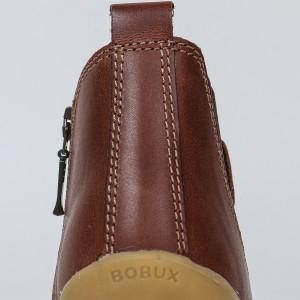 "Bottines en cuir imperméable Quickdry Step Up ""Jodhpur"" Toffee Bobux"