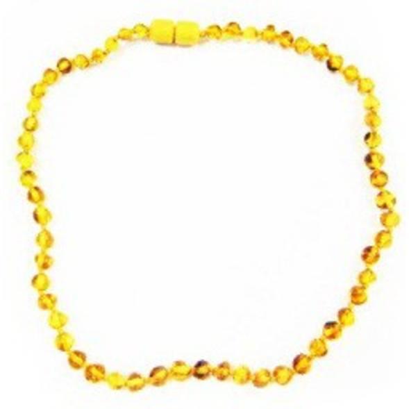 Collier ambre baroque - Kadolis