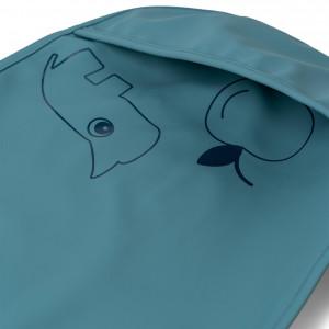 "Bavoirs bébé imperméables à poche ""Deer Friends Bleu"" (x2) Done by Deer"