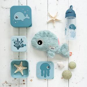 Boites à gouter enfant Sea Friends Bleu (x3) Done by Deer