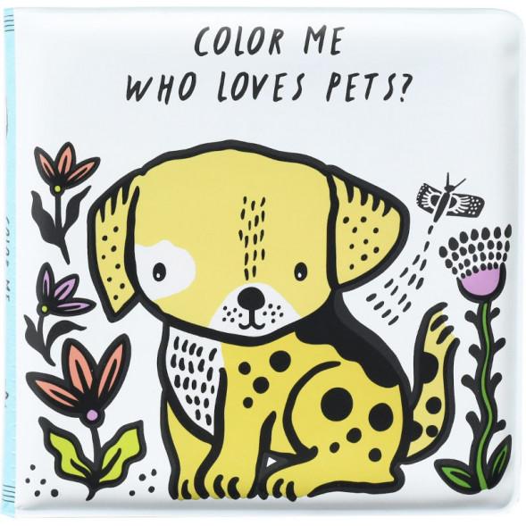 """Livre de bain à colorier """"Pets"""" (6 mois-5 ans)"""