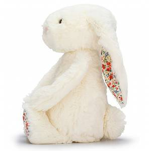 Bashful Bunny Blossom Cream - medium - Jellycat