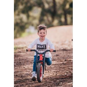 "Draisienne enfant évolutive Recycled RE2 2 en 1 ""Rouge"" (1,5 -6 ans) Wishbone"