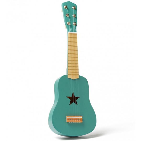 """Guitare enfant en bois Etoile """"Vert"""" (3-8 ans)"""