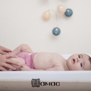 """Couche lavable bebe et nouveau-né """"Rose Fée"""" Hamac"""