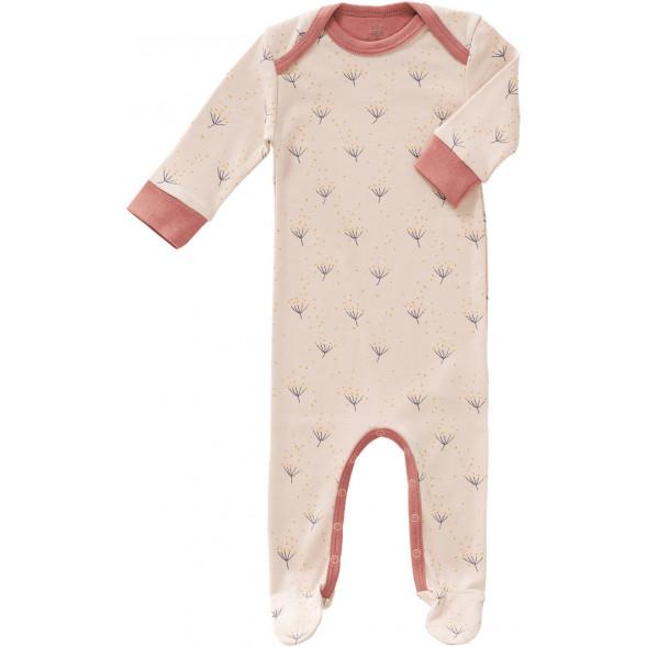 "Pyjama bébé avec pieds en coton bio ""Dandelion"""
